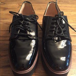 Madden Girl Platform Oxford Shoes